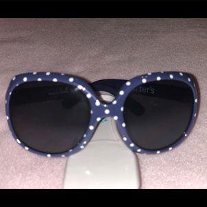 Carter's Navy Blue Polka Dot Sunglasses